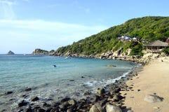 Stil Ao Leuk zandig strand in Thailand Stock Afbeeldingen