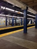 Stil en lege metro Stock Foto's