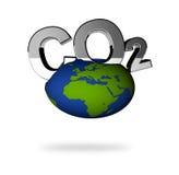 stil för förorening s för co2 3d vektor illustrationer