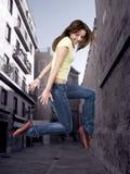 stil för flygtur för dansarekvinnlighöft Royaltyfria Foton