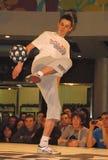 stil för gata för fotboll för strid för 7 tjur röd Royaltyfria Bilder