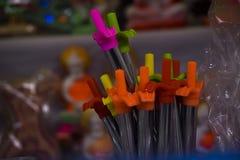 Stil för grupp för färg för tändaregas arkivbild
