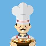 Stil för kockvektorlägenhet Arkivbilder
