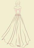 stil för modegipsyillustration Royaltyfri Bild