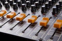 stil för musik s för dj-utrustningblandare sound Royaltyfria Bilder