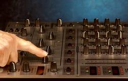 stil för musik s för dj-utrustningblandare sound Royaltyfria Foton
