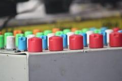 stil för musik s för dj-utrustningblandare sound Fotografering för Bildbyråer