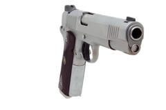 stil för pistol för 1911 automatisk halv Arkivfoton
