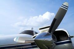 stil för propeller för affärsnivå retro Royaltyfria Bilder