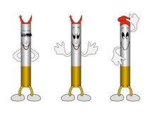 stil för tecknad filmcigarettillustration Royaltyfri Bild
