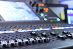 stil för musik s för dj-utrustningblandare sound Royaltyfri Foto