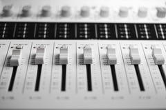 stil för musik s för dj-utrustningblandare sound Arkivbild