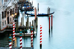 Stil kanaal in Venetië Stock Afbeelding
