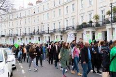 Stil Maart voor Grenfell-Toren in Kensington en Chelsea royalty-vrije stock fotografie