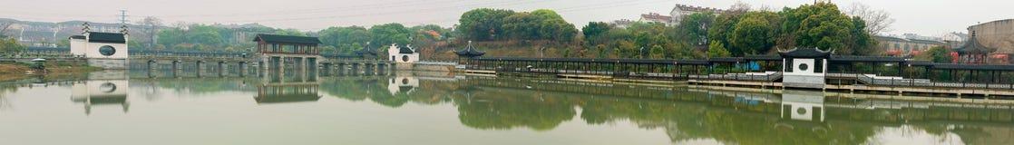 Stil meer-Nan-Tchang Mei Lake Scenic Area Stock Afbeeldingen