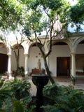 Stil terras van Cordoba royalty-vrije stock afbeelding