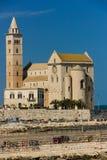 stil tuscany för domkyrkaEuropa italy pisa romanesque Trani Apulia italy Royaltyfri Foto