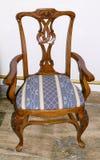 Stile antico della sedia Fotografie Stock Libere da Diritti