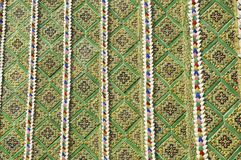 Stile Asia delle mattonelle di mosaico del reticolo Immagini Stock