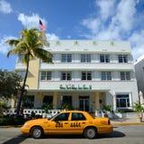 Stile Avalon di art deco in Miami Beach Immagini Stock