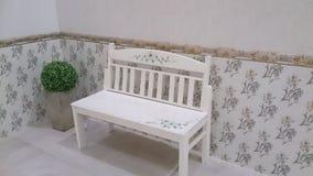 stile bianco della sedia Immagini Stock