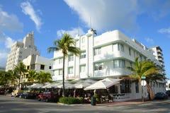 Stile Carlyle di art deco in Miami Beach Immagini Stock Libere da Diritti
