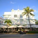 Stile Carlyle di art deco in Miami Beach Fotografia Stock
