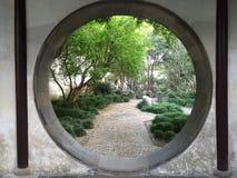 Stile cinese del giardino Fotografie Stock