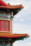 Stile cinese del tetto Fotografie Stock Libere da Diritti