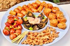 Stile cinese dell'aperitivo Fotografia Stock