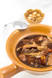 Stile cinese della minestra della capra Fotografia Stock Libera da Diritti