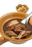 Stile cinese della minestra della capra Immagini Stock Libere da Diritti