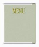 Stile classico del menu Fotografia Stock