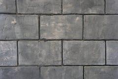 Stile d'annata di progettazione senza cuciture nel fondo strutturato marrone giallo beige leggero naturale del muro di mattoni de immagine stock libera da diritti
