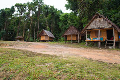 Stile del bambù del cottage Fotografia Stock Libera da Diritti