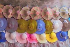 Stile del cappello della gente Vietnam Fotografia Stock Libera da Diritti