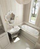 Stile del classico del bagno Illustrazione Vettoriale