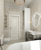 Stile del classico del bagno Illustrazione di Stock