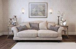 Stile del classico del sofà royalty illustrazione gratis