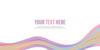 Stile del fondo per il sito Web dell'intestazione Immagini Stock Libere da Diritti