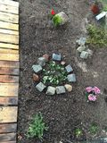 Stile del giardino Fotografia Stock