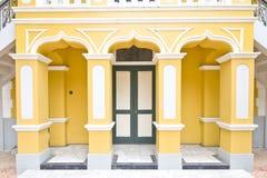 Stile del Portoghese di Wat Nivet fotografia stock libera da diritti
