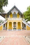 Stile del Portoghese di Wat Nivet immagine stock
