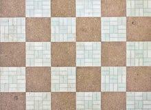 Stile del reticolo sul pavimento del tempiale Fotografia Stock Libera da Diritti
