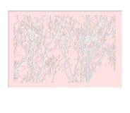 Stile del ritaglio della carta di forma dell'albero Modello per la cartolina d'auguri Immagini Stock