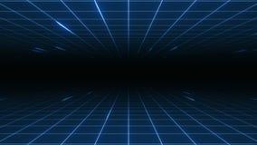 Stile del ` s Synthwave di VJ 80 stock footage