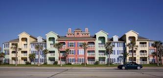 Appartamenti variopinti (condominio) Immagine Stock Libera da Diritti