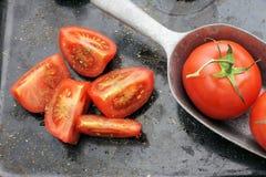 Stile dell'annata del pomodoro Fotografia Stock