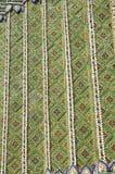 Stile dell'Asia delle mattonelle di mosaico del reticolo Fotografia Stock Libera da Diritti