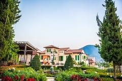 Stile dell'Italia del villaggio, Tailandia Fotografie Stock